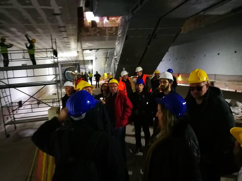 4ca4465553f5 Επίσκεψη των μελών του ΤΕΕ Ανατολικής Στερεάς στα υπό κατασκευή έργα ...